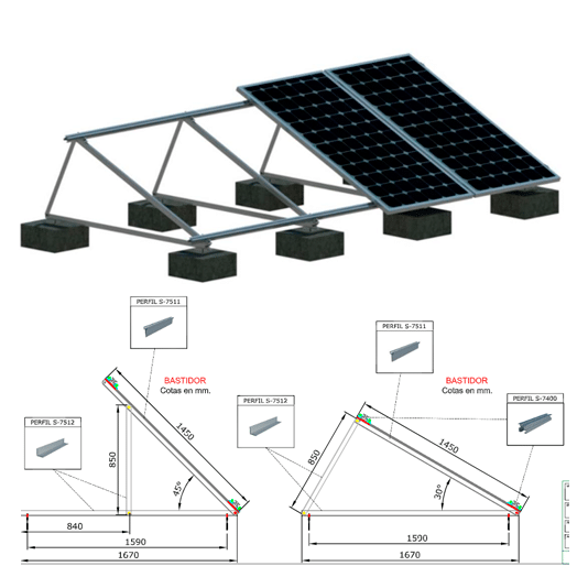 Ver Estructuras Solares