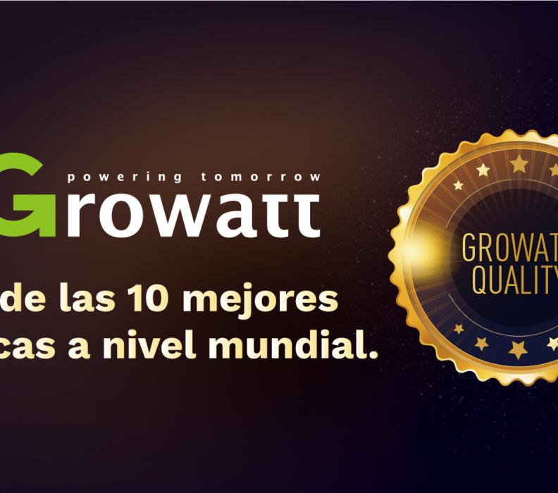 GROWATT EN EL TOP 10 DE LAS MEJORES MARCAS A NIVEL MUNDIAL